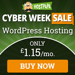 Hostpapa Cyber Sale