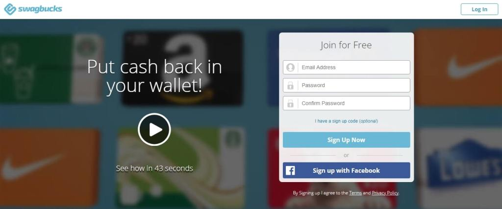 Swagbucks- Online Surveys That Pay Cash