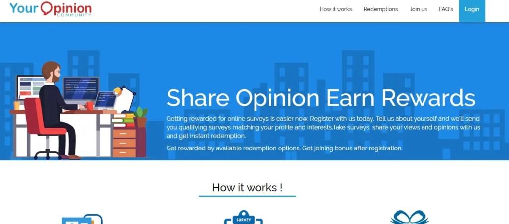 YourOpinionCommunity- Online Surveys That PAy Cash Online.