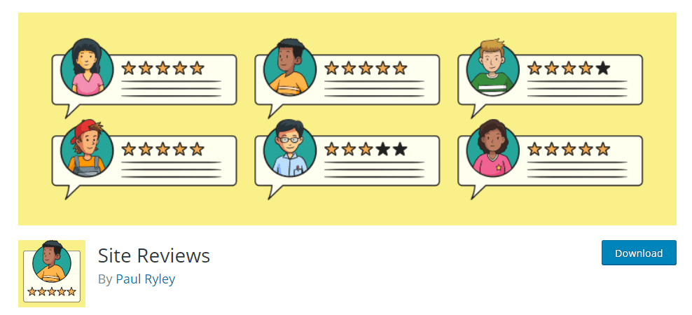 WordPress Review Plugin - Site Reviews