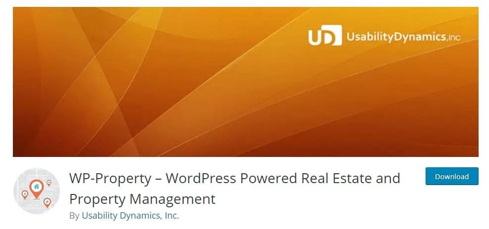 WordPress Real Estate Plugin WP Property