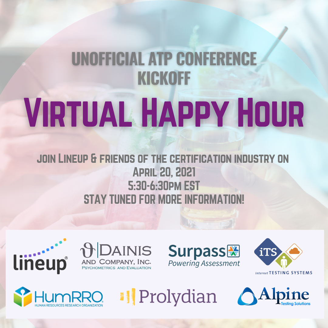 Unofficial ATP Conference Kickoff: Virtual Happy Hour