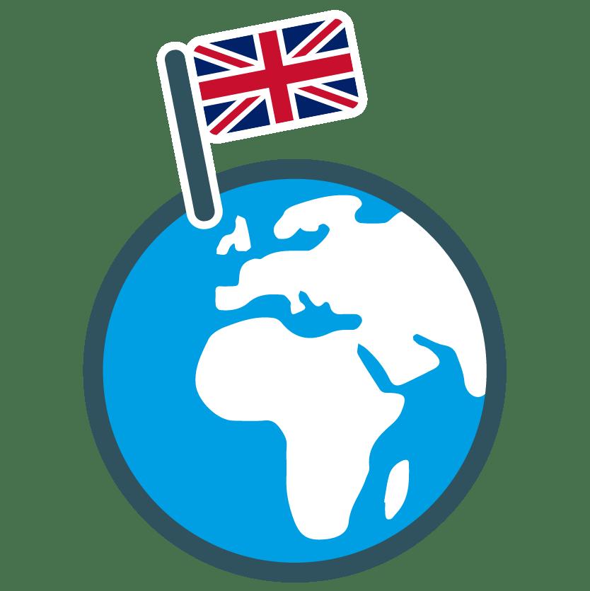 UK globe icon