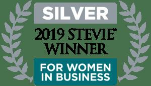 Silver 2019 Stevie Award Winner for Women in Business