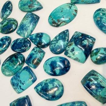 Shattuckite pendants