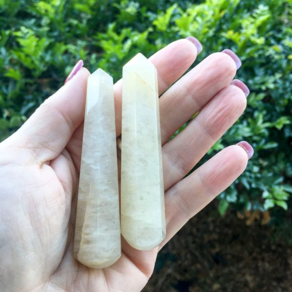 Golden Healer Quartz Massage Wand