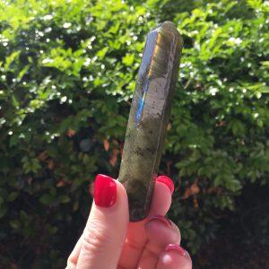 Labradorite massage wand for sale - A Surplice of Spirit, Crystal Healing in Brisbane
