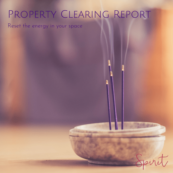 Property clearing report by Melanie Surplice