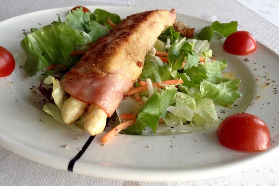 breaded asparagus
