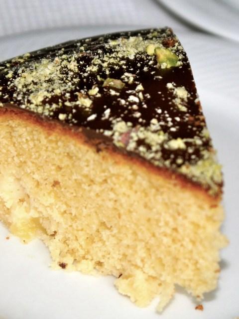 pineapple marzipan cake