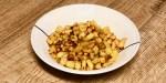 crispy crunchy cubed potatoes