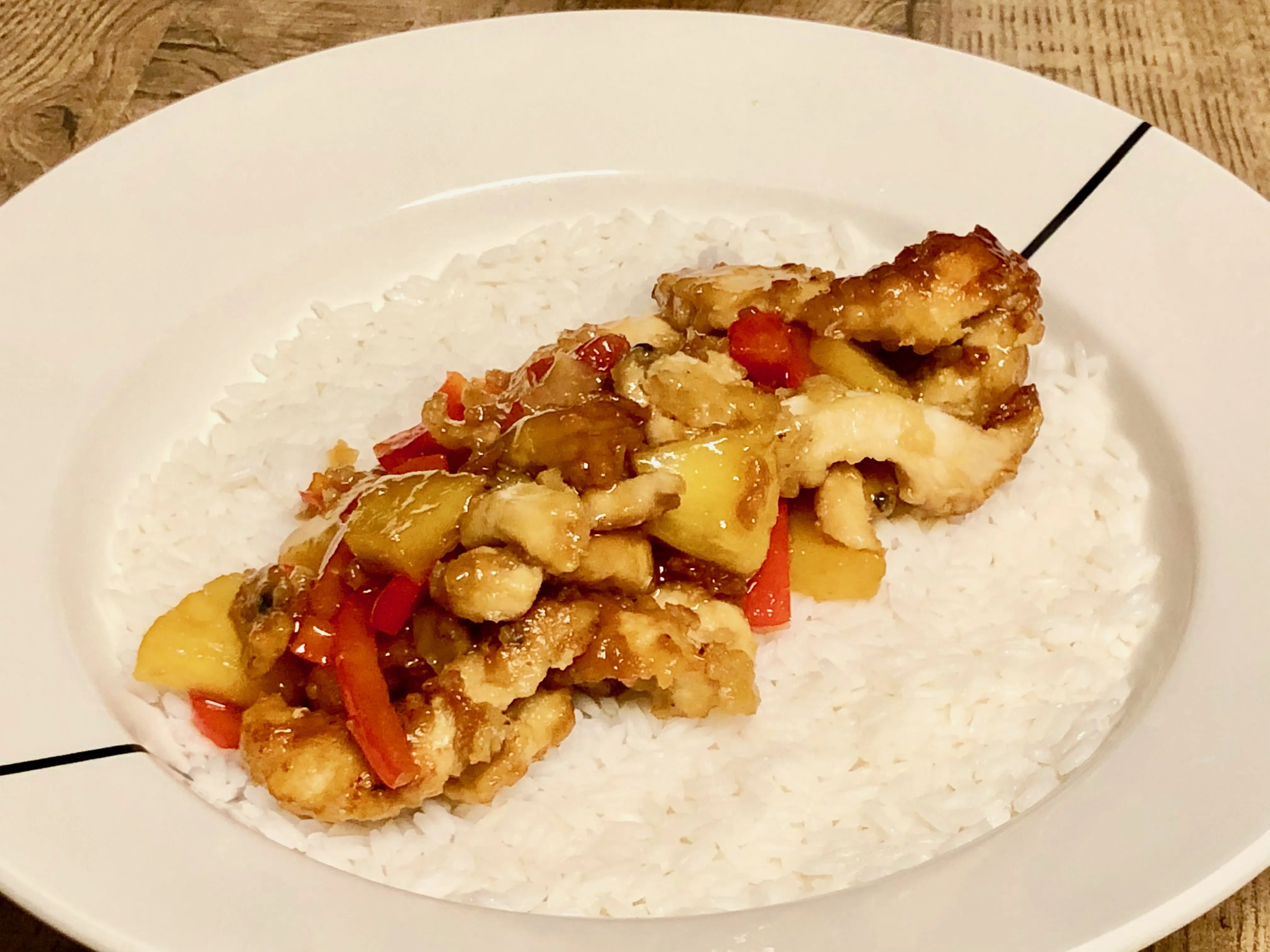 sweet&sour fried Chinese chicken