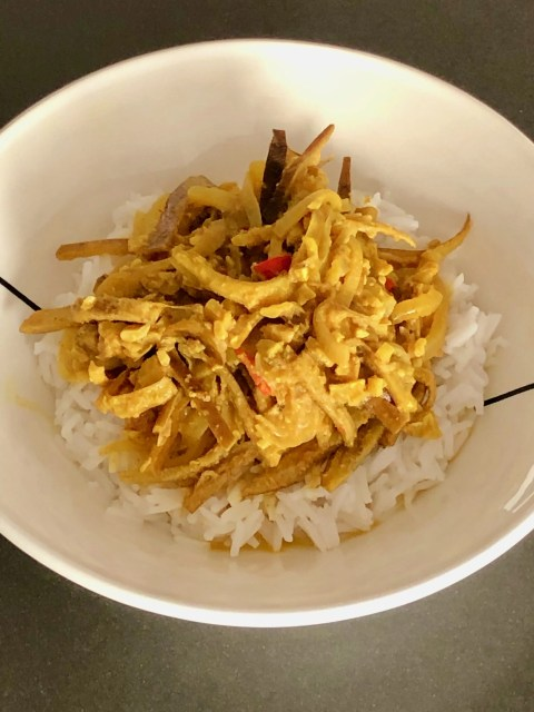 banana peel curry