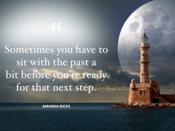 sitting with the past quote