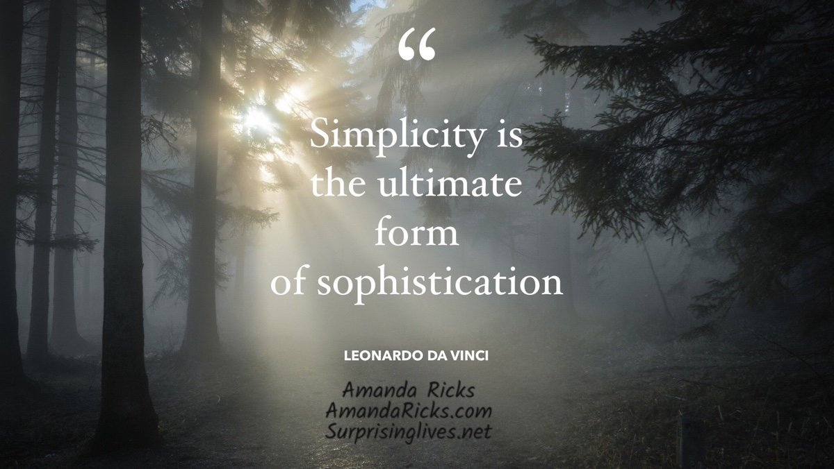 simplicity famous quote