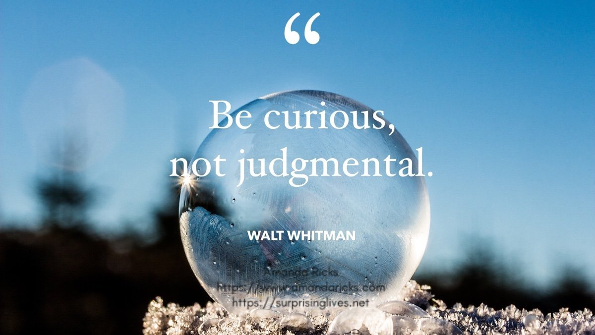 be curious famous quote