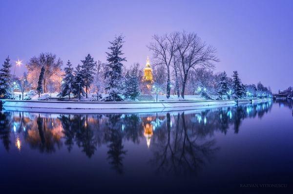 Iarna magica in Timisoara