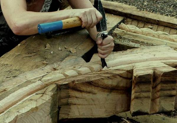 Sculptura in lemn Danut Hotea