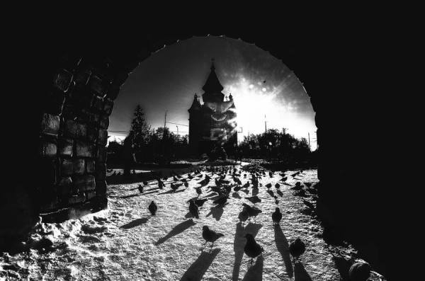Timisoara black & white
