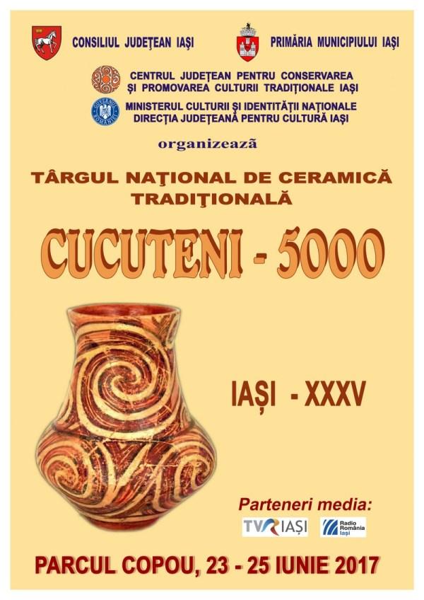IAŞI - Targul National de Ceramica Traditionala CUCUTENI 5000 cu meşteri din România şi de peste hotare