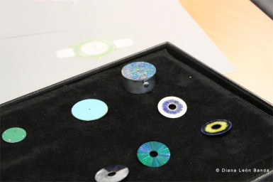 Piedra de ópalo en la relojería