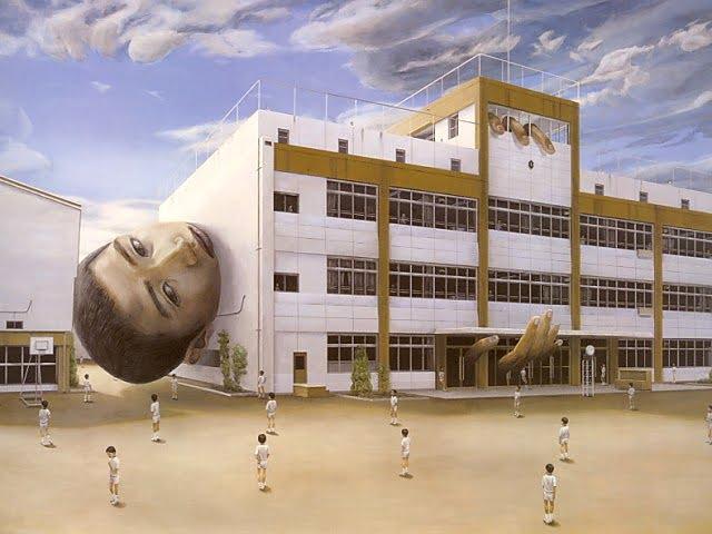 Tetsuya Ishida Surrealistic paintings