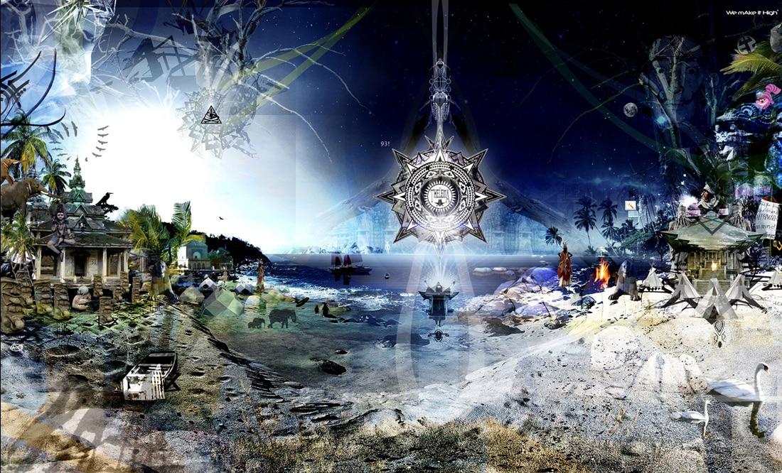Kazim - Visionary Art