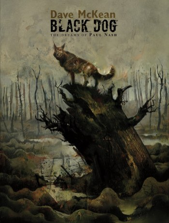 Black Dog Cover by Dave McKean