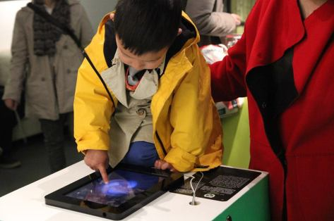 Electric Sheep iPad App exhibited in Beijing, curated by ZKM.