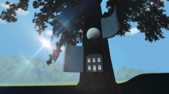 Magritte VR - open tree