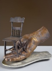 """Chairing"" by D.W Martin - Surreal Art Sculpture"