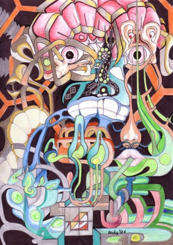 Andy Schmitz - Surreal Drawing 3