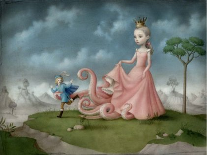 Dangerous Liasons by Nicoletta Ceccoli