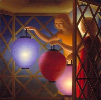 George Clair Tooker 1920-2011 - American Magic Realist painter - 1