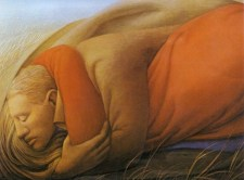 George Clair Tooker 1920-2011 - American Magic Realist painter - 10