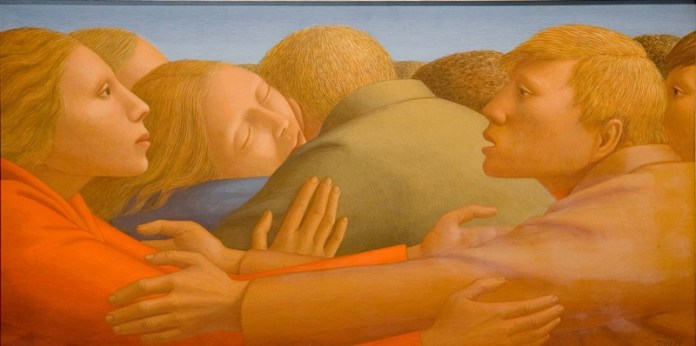 George Clair Tooker 1920-2011 - American Magic Realist painter - 5