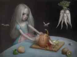 Girls Don't Cry by Nicoletta Ceccoli