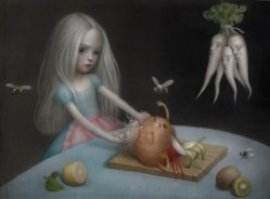 Girls Don't Cry by Nicoletta Ceccoli