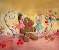 Material Girls by Nicoletta Ceccoli