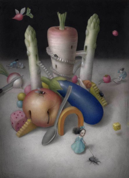 Night Walk by Nicoletta Ceccoli