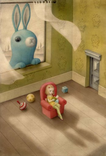 Peeping Tom by Nicoletta Ceccoli