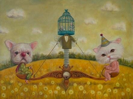 Painting by Konan Lim