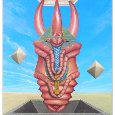 """Surrealist Vincent Fink's """"Atlas Metamorphosis"""" Visionary Journey into 4 Mind-Bending Epochs"""