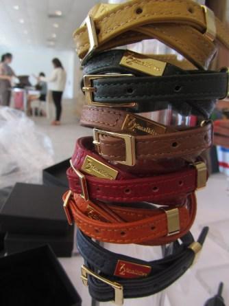 Charm Artisan Leather Bracelets
