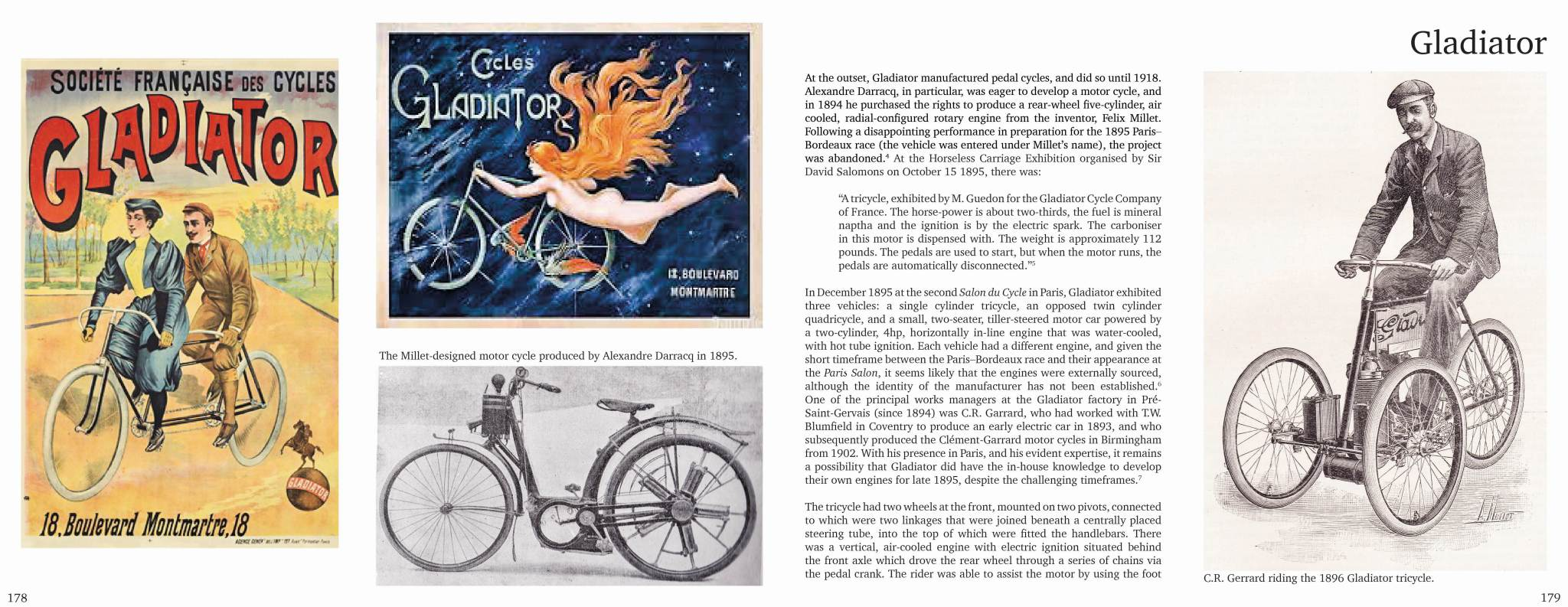 Sample Page | Gladiator Tricycle | The Tricycle Book, Part One, 1895-1902