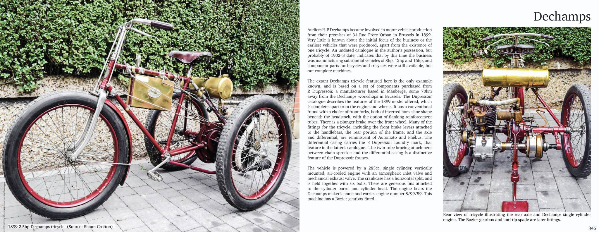 Sample Page | Decamps Tricycle | The Tricycle Book, Part One, 1895-1902