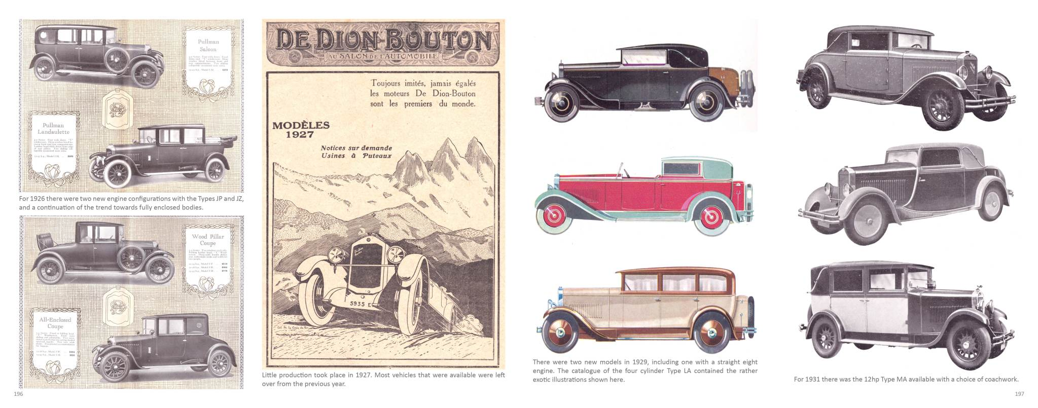 Sample Page | Passenger Vehicles | De Dion Bouton - The Essential Library & Source Book 1888 – 1931