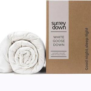 Surrey Down White Goose Down Presentation Box