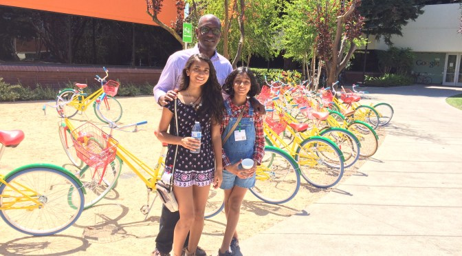 Visit to Google HQ in Mountain View, California