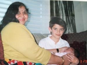 Thanga Mami with Kishan